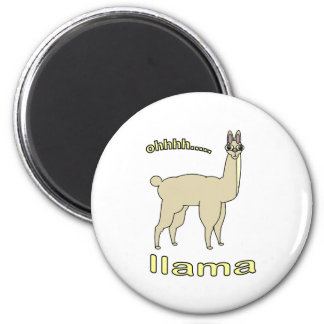 Ohh Llama Magnet