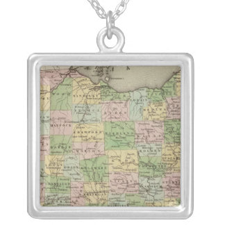 Ohio 10 silver plated necklace