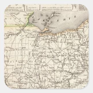 Ohio 12 square sticker