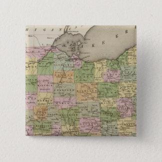 Ohio 15 Cm Square Badge