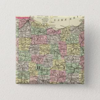 Ohio 2 15 cm square badge