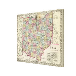 Ohio 3 canvas print