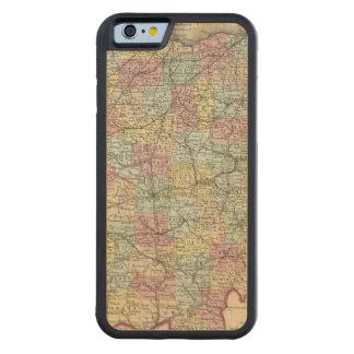 Ohio 6 carved maple iPhone 6 bumper case