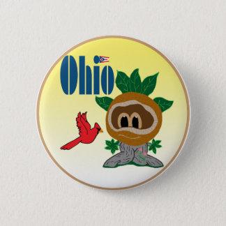 Ohio 6 Cm Round Badge