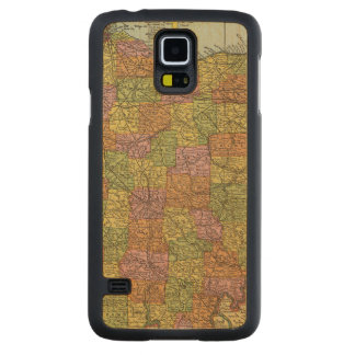 Ohio 7 carved maple galaxy s5 case