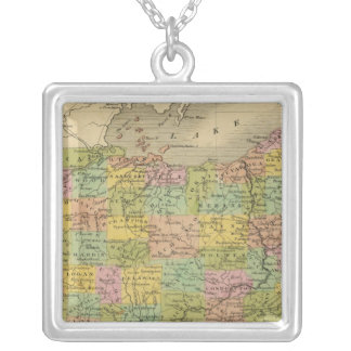 Ohio 7 silver plated necklace