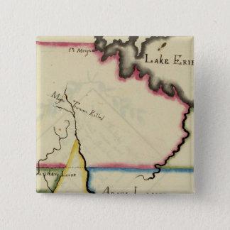 Ohio 8 15 cm square badge