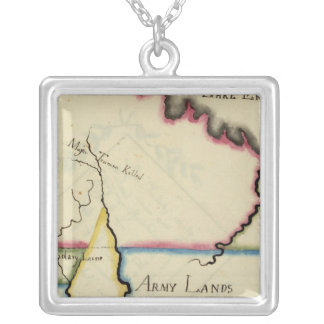 Ohio 8 silver plated necklace