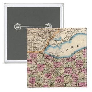 Ohio 9 15 cm square badge