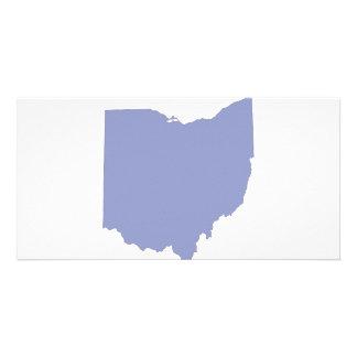 Ohio - a BLUE State Photo Card