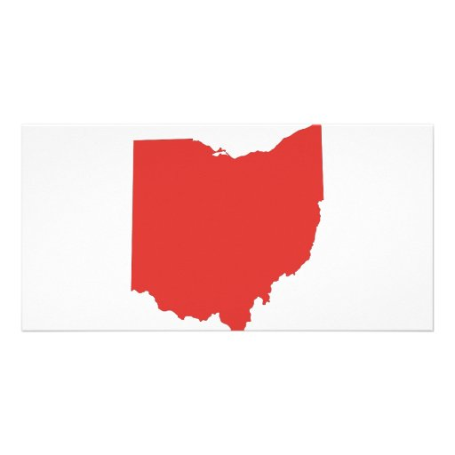 Ohio - a RED State Custom Photo Card