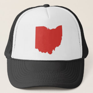 Ohio - a RED State Trucker Hat