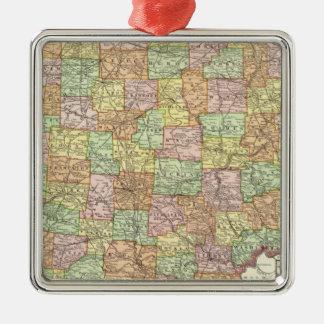 Ohio and Hamilton County Christmas Ornament