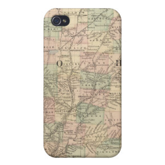 Ohio and Indiana iPhone 4/4S Cover