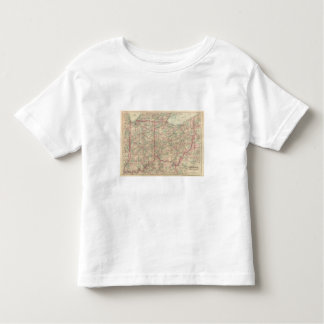 Ohio and Indiana Toddler T-Shirt