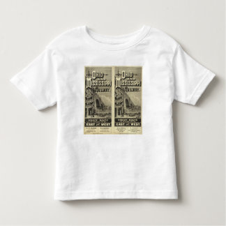 Ohio and Mississippi Railway Toddler T-Shirt