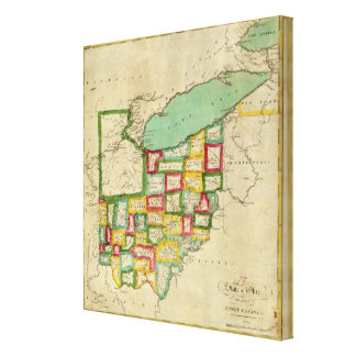 Ohio Atlas Canvas Print