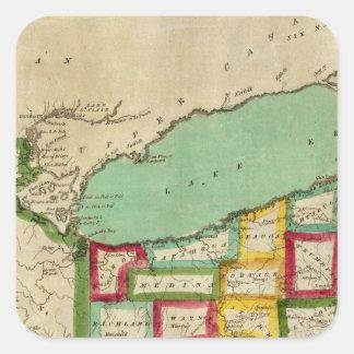 Ohio Atlas Square Sticker