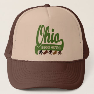 Ohio Bigfoot Research Trucker Hat