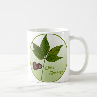 Ohio Buckeye Tree Coffee Mug