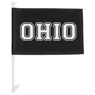 Ohio Car Flag