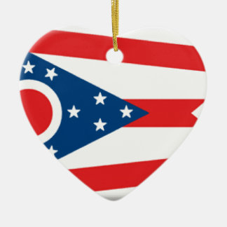 Ohio Christmas Ornament