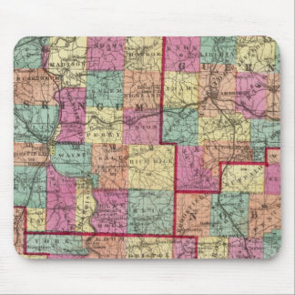 Ohio Counties Mouse Mat