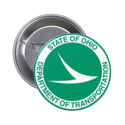 Ohio Department of Transportation Button.