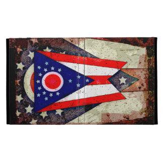 OHIO FLAG iPad FOLIO CASE