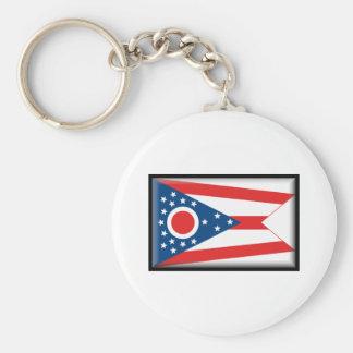 Ohio Flag Key Ring