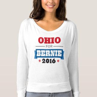 OHIO FOR BERNIE SANDERS Flowy Long Sleeve T-Shirt
