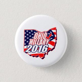 Ohio for Hillary 2016 3 Cm Round Badge
