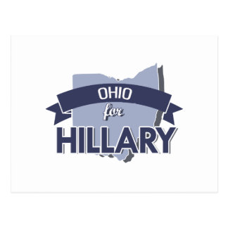 OHIO FOR HILLARY -.png Postcard
