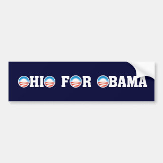Ohio For Obama Bumper Sticker