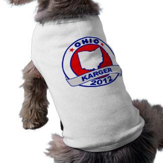 Ohio Fred Karger Pet Tshirt