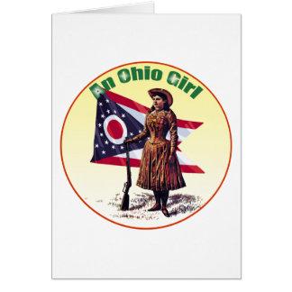 Ohio Girl, Annie Oakley Greeting Card