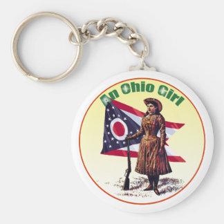 Ohio Girl, Annie Oakley Key Ring