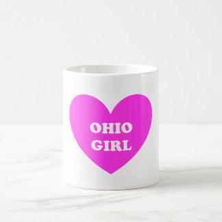 Ohio Girl Basic White Mug