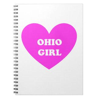 Ohio Girl Note Books