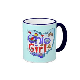 Ohio Girl Ringer Mug