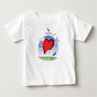 ohio head heart, tony fernandes baby T-Shirt