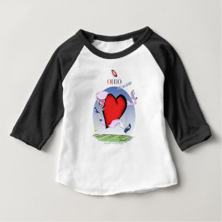 ohio head heart, tony fernandes baby T-Shirt