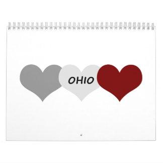 Ohio Heart Calendar