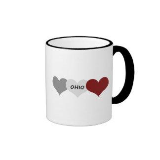 Ohio Heart Ringer Mug