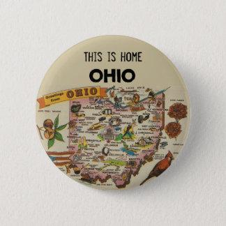Ohio Home 6 Cm Round Badge