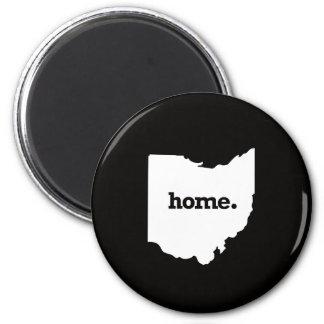 Ohio Home 6 Cm Round Magnet