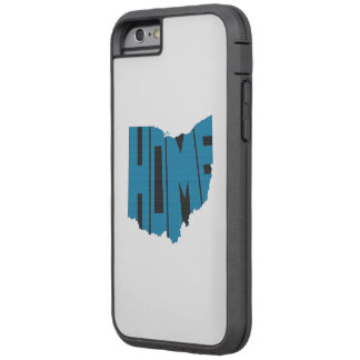 Ohio Home Word Art Blue Tough Xtreme iPhone 6 Case