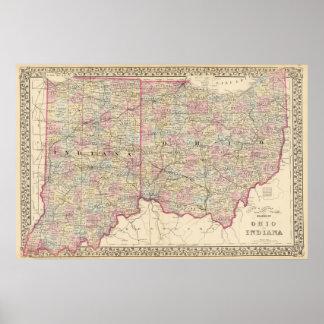 Ohio, Indiana 2 Poster