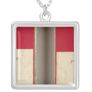 Ohio, Indiana, Cinncinnati Silver Plated Necklace