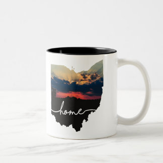 Ohio is home.... Two-Tone coffee mug
